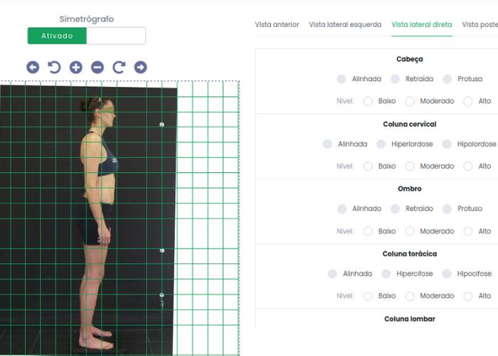 Simetrógrafo virtual do Eksy